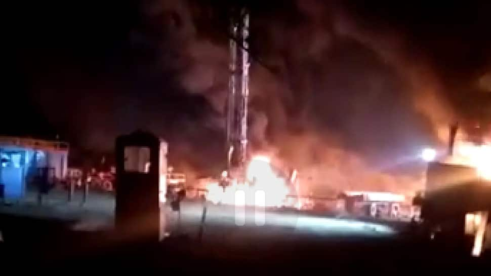 1 killed, 5 injured after fire breaks out at ONGC oil well in Gujarat's Ahmedabad