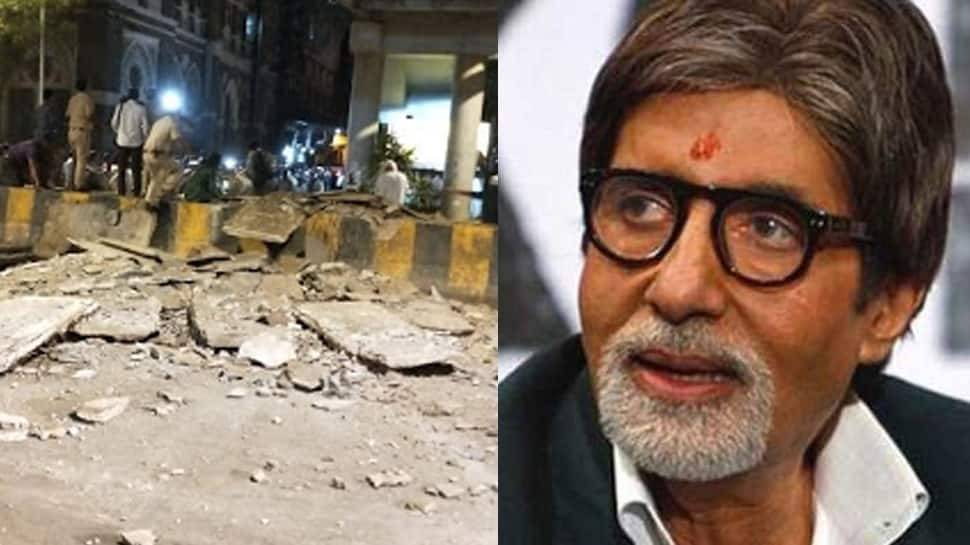 Mumbai foot overbridge collapse: Amitabh Bachchan, Riteish Deshmukh and others react to the tragedy