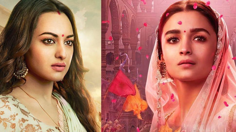 Kalank new posters: Alia Bhatt, Sonakshi Sinha look majestic!