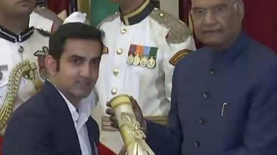 Sunil Chhetri, Gautam Gambhir and Bachendri Pal among 47 bestowed with Padma awards