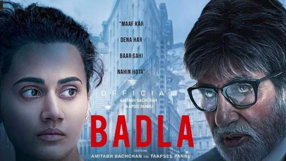 Amitabh Bachchan-Taapsee Pannu starrer Badla stays rock steady at Box Office