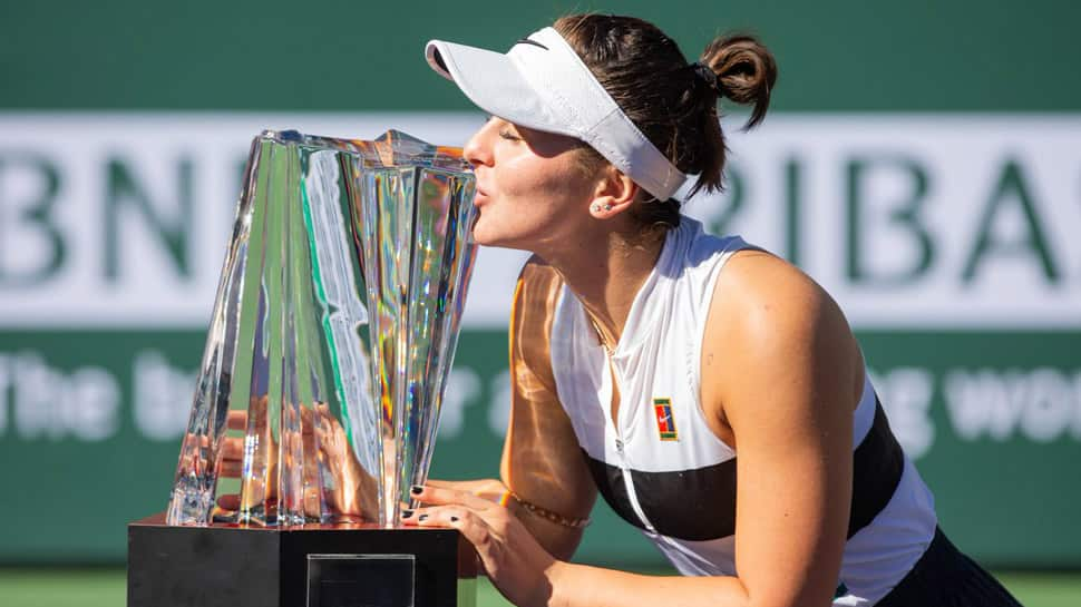 Wildcard Bianca Andreescu shocks Angelique Kerber to clinch Indian Wells title