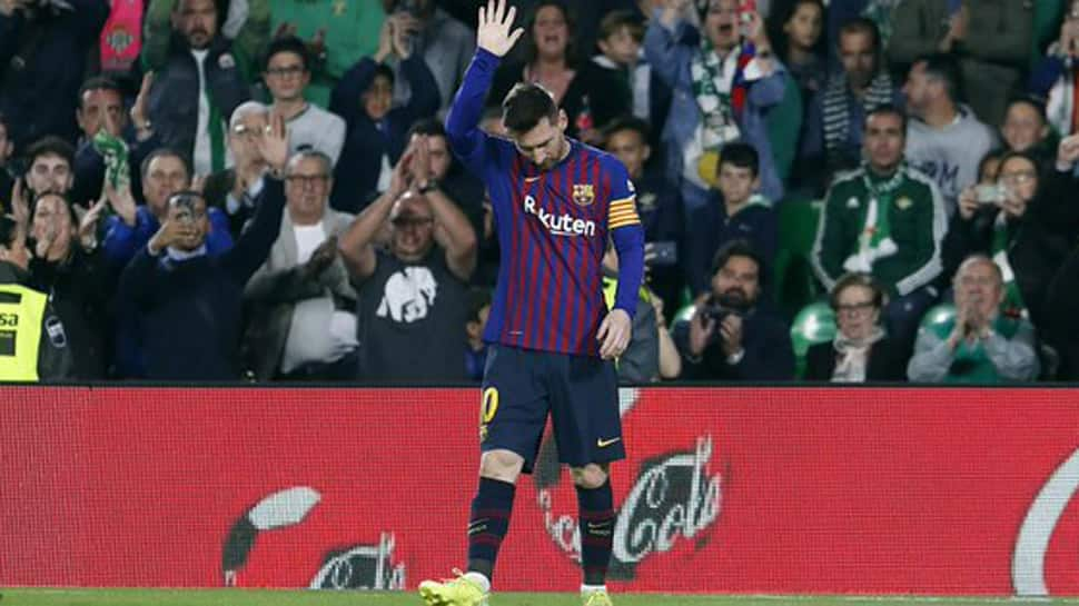 Real Betis fans bow to 'extraordinary' Lionel Messi after hat-trick at Barcelona