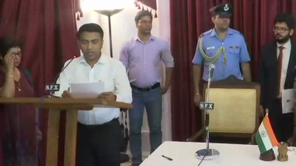 Big responsibility, will take forward Manohar Parrikar's work: Goa CM Pramod Sawant
