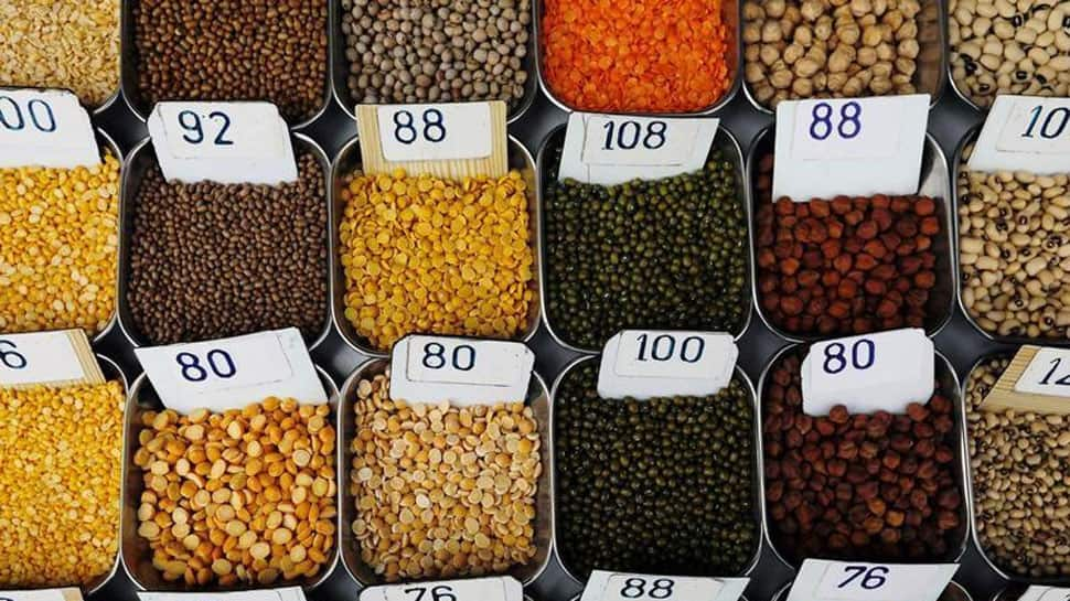 States with highest and lowest production of Pulses in last four years