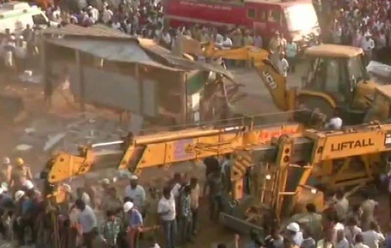 2 dead, 40 trapped as under-construction building collapses in Karnataka's Dharwad