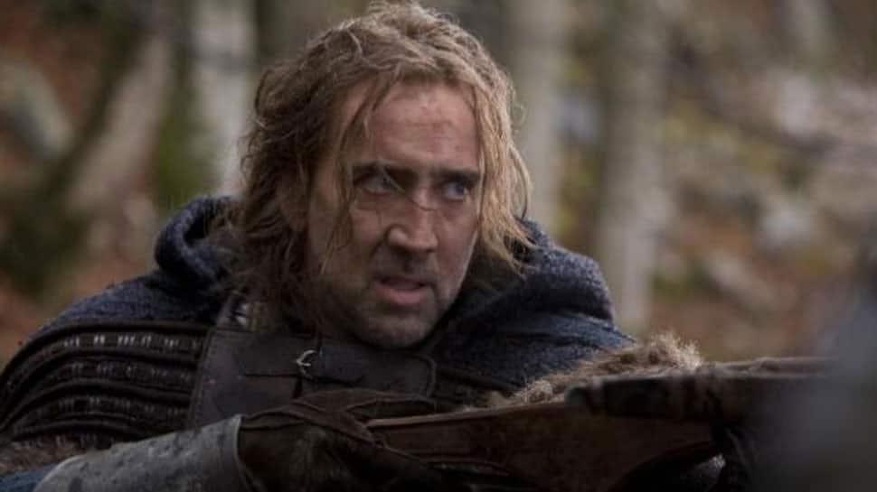 Nicolas Cage to star in sci-fi martial arts film 'Jiu Jitsu'