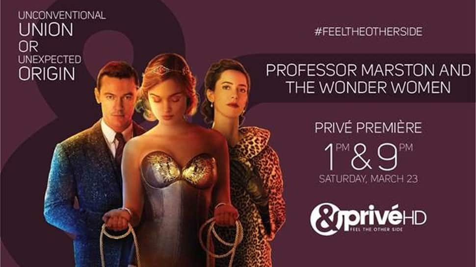 &PriveHD premieres Professor Marston and the Wonder Women