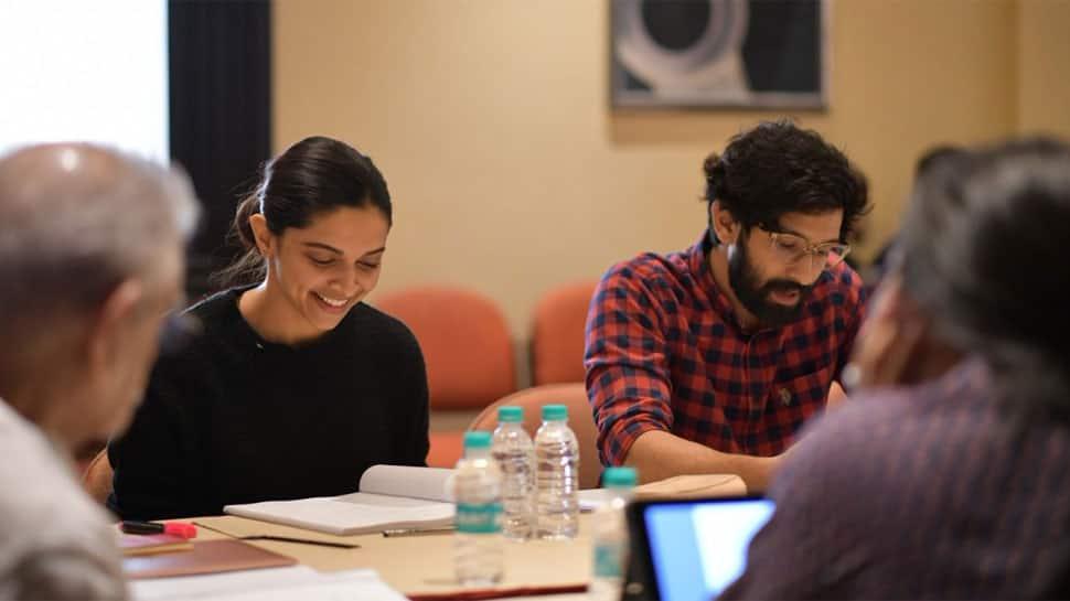 Deepika Padukone begins work on 'Chhapaak' with script reading session—See pics