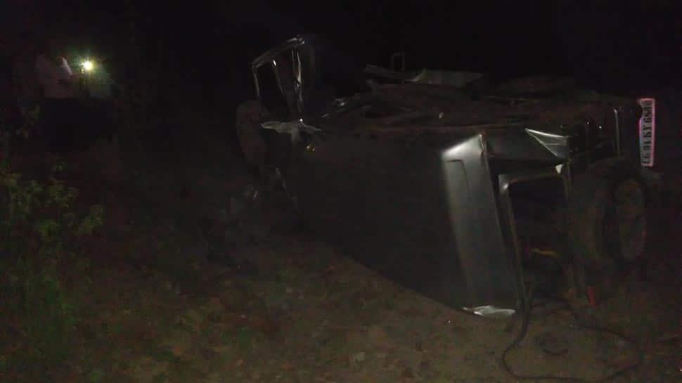 Naxals blow up vehicle using IED in Chhattisgarh injuring 9
