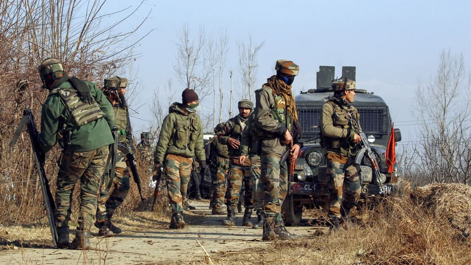 Encounter underway between security forces and terrorists at Sopore, Bandipora & Baramulla in Kashmir valley