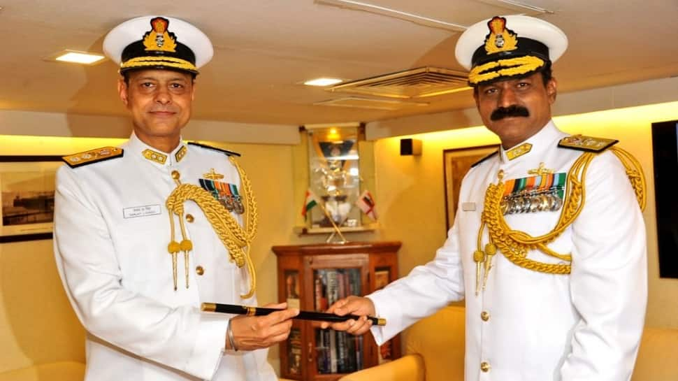 Rear Admiral Sanjay Jasjit Singh takes charge of Indian Navy's Western Fleet