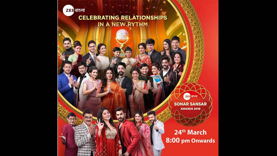 Watch Zee Bangla Family come together with Sonar Sansar Awards 2019 on March 24