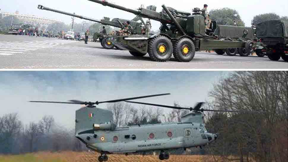 Army to induct Dhanush howitzers, Air Force to commission Chinook choppers in service next week