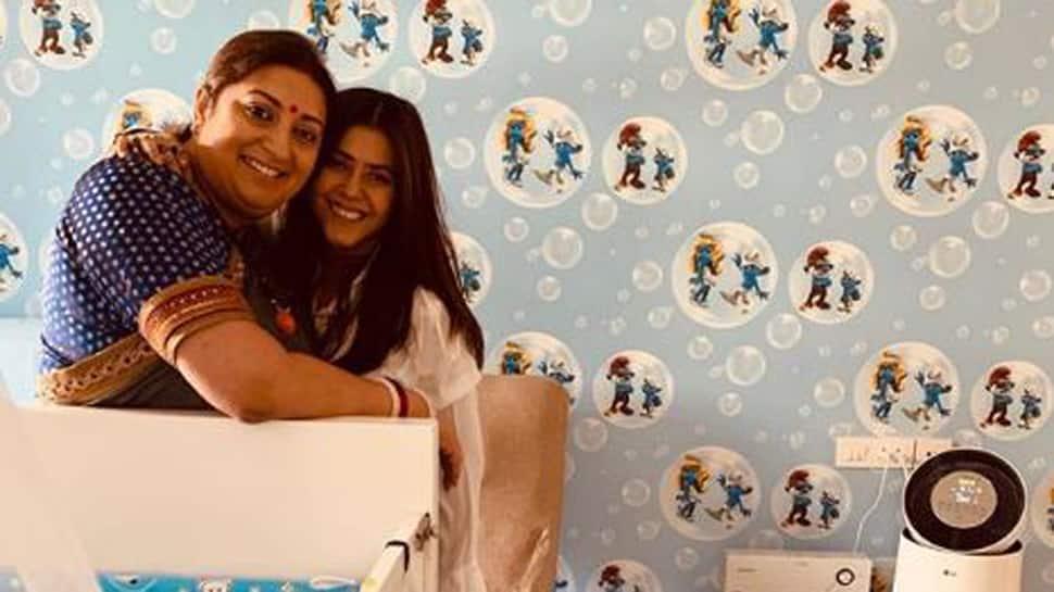 Ekta Kapoor's birthday wish for 'soul sister' Smriti Irani is too cute for words