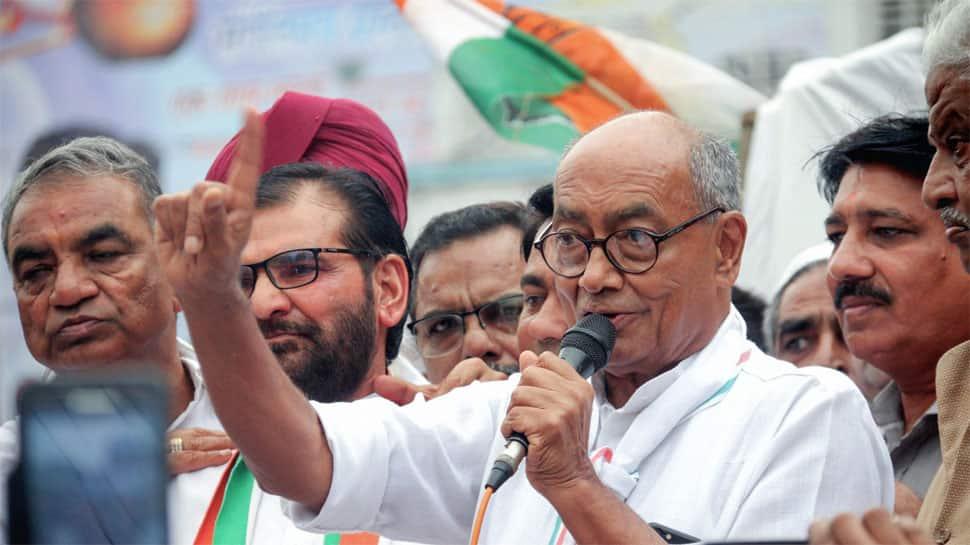 Digvijaya Singh to contest from 'toughest' Lok Sabha seat Bhopal, a BJP bastion since 1989