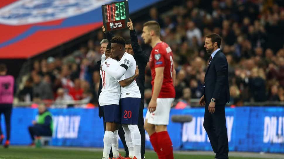 England's Callum Hudson-Odoi shocked to make senior debut against Czech Republic