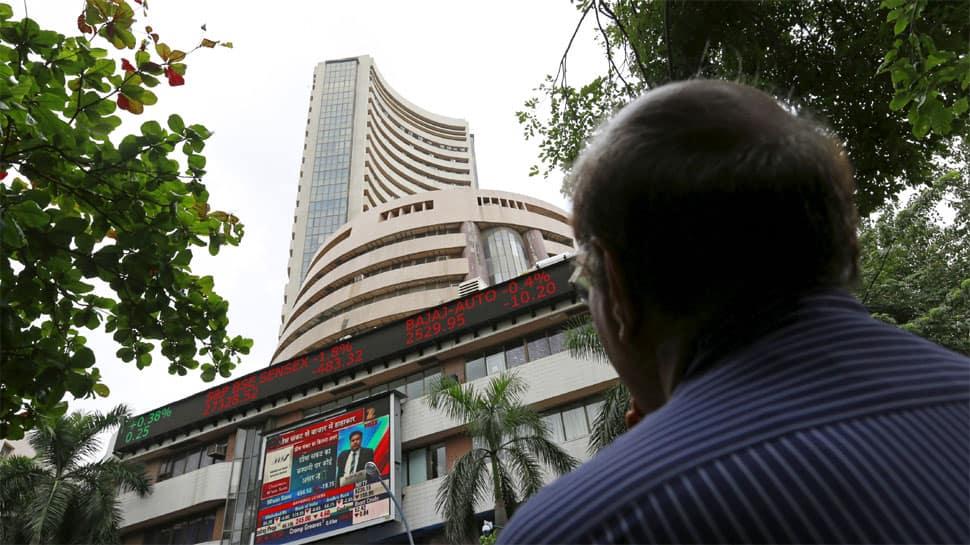 Sensex falls over 350 points, Nifty slips below 11,400 on weak global cues