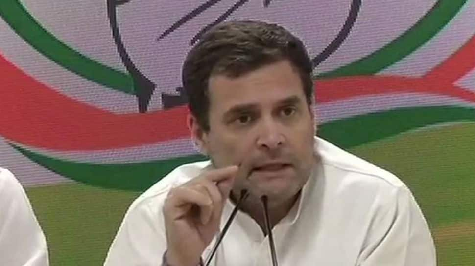 Congress chief Rahul Gandhi says if voted to power, will give Rs 72,000 per annum to 20% of India's most poor