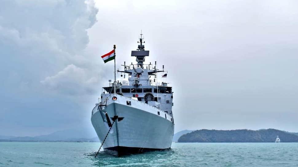 Naval corvette INS Kadmatt reaches Langkawi for LIMA 2019