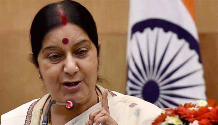 Sushma Swaraj wants abducted Hindu girls in Pak to be reunited with families