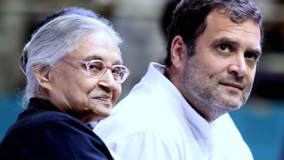 Suspense over Congress' alliance with AAP remains. 'Decision to be taken by Rahul Gandhi,' says Sheila Dikshit