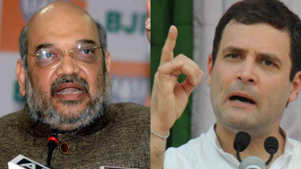 All the nation's a stage: Amit Shah hits back at Rahul Gandhi for 'theatre' jibe over Mission Shakti