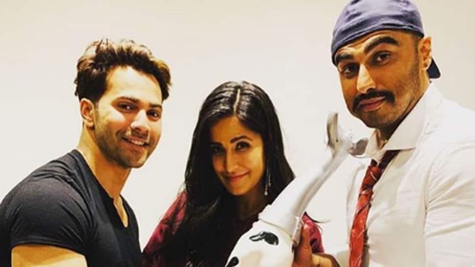 Arjun Kapoor, Varun Dhawan and Katrina Kaif give major friendship goals in this pic!