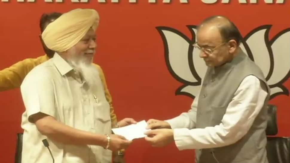 Suspended AAP lawmaker Haridner Singh Khalsa joins BJP