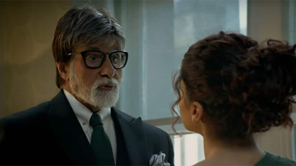 Amitabh Bachchan-Taapsee Pannu's 'Badla' stands tall at Box Office