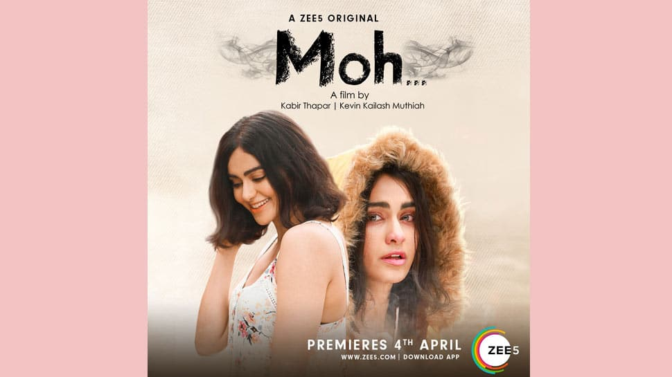 Adah Sharma makes her digital debut with ZEE5's 'Moh'