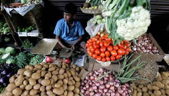 States with highest and lowest production of vegetables in last 4 years