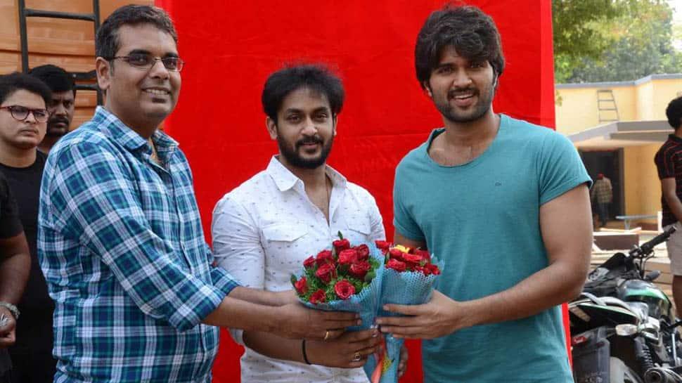 Vijay Deverakonda unveils Manoj Nandam's first look from 'OGF'