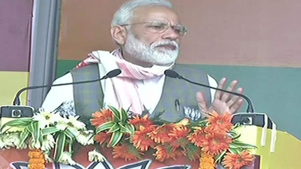 Opposition 'disheartened by India's growth,' says PM Narendra Modi at Arunachal rally