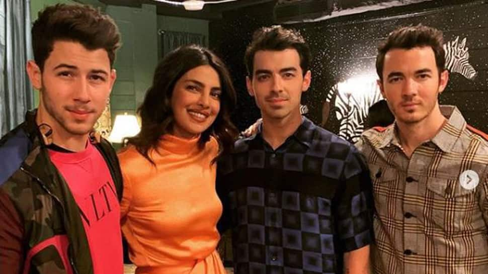 Amid divorce rumours, Priyanka Chopra attends her first Jonas Brothers concert-See pics