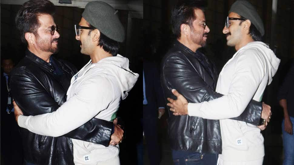 Ranveer Singh- Anil Kapoor's bromance at the airport will leave you smiling—Pics