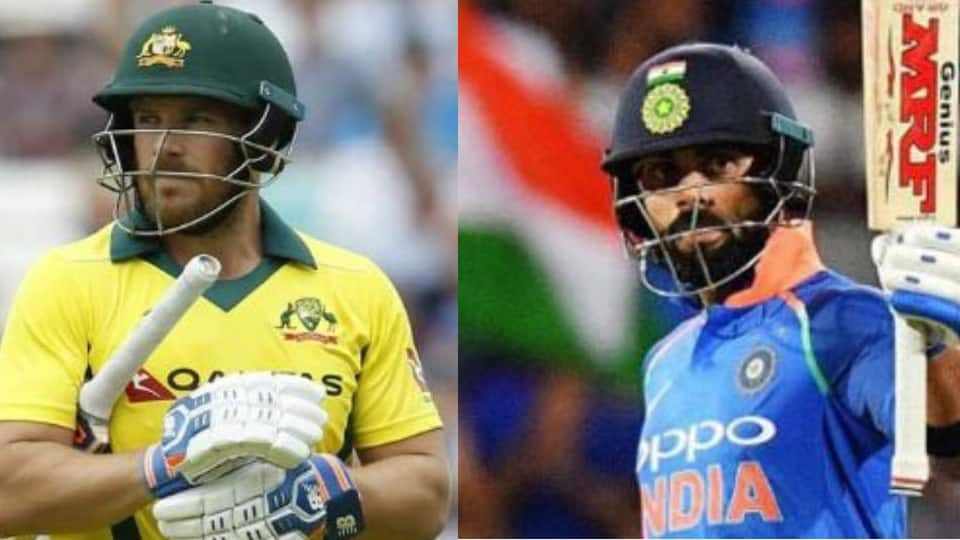 ICC ODI rankings: Virat Kohli retains No.1 spot, Aaron Finch breaks into top 10