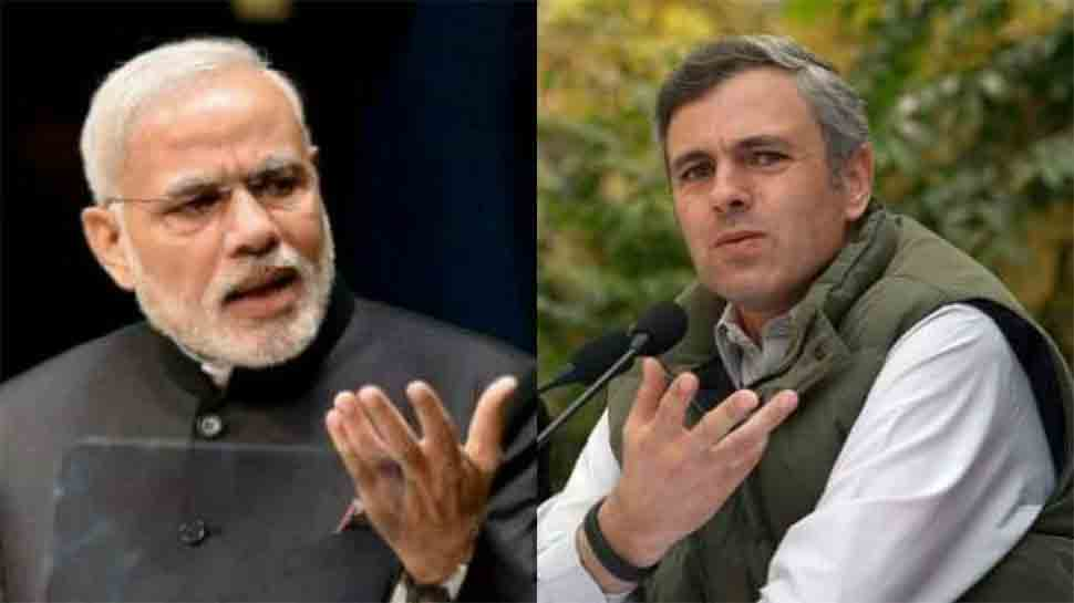 PM Narendra Modi hits out at Omar Abdullah over his separate PM statement