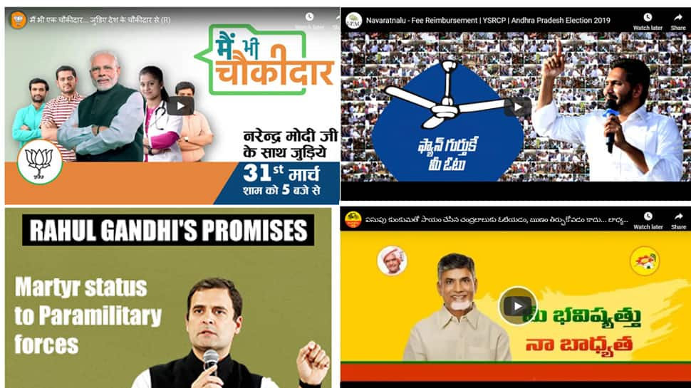 BJP leads election spend on Google with Rs 1.21 crore, YSR Congress 2nd, Congress 6th