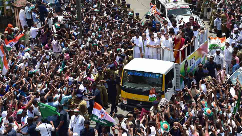 Photo Gallery: Rahul Gandhi files nomination from Wayanad, holds roadshow  with Priyanka Gandhi | News | Zee News
