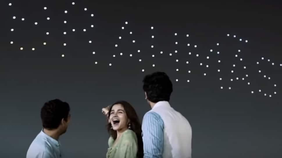 BTS video of Alia Bhatt- Ranbir Kapoor's 'Brahmastra' logo unveiling will blow your mind—Watch