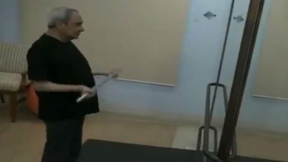 Watch: BJD releases video of Naveen Patnaik's exercise regime