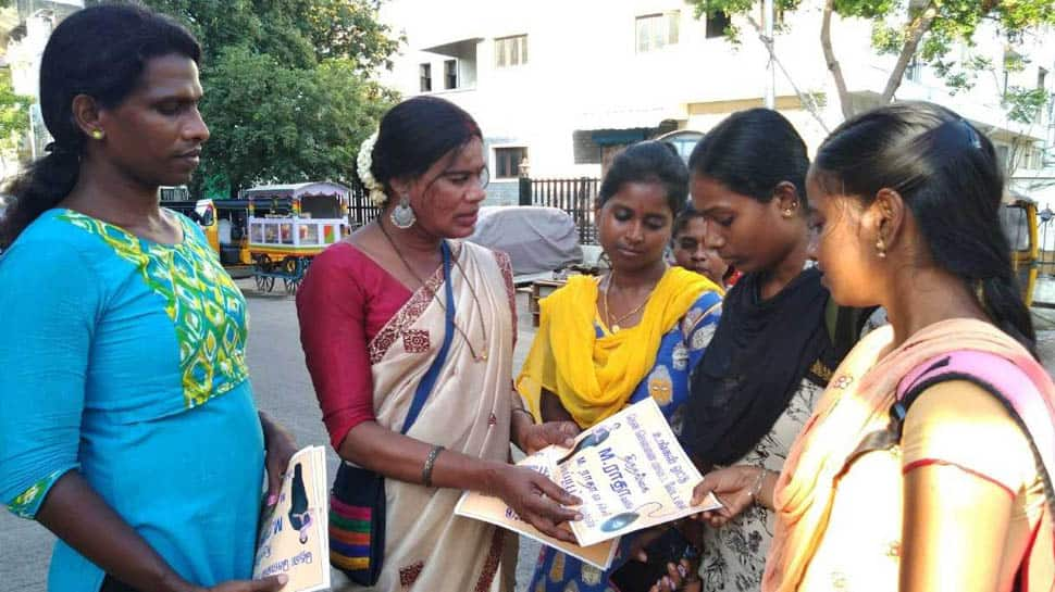 In a first, transgender candidate to contest Lok Sabha election from Tamil Nadu