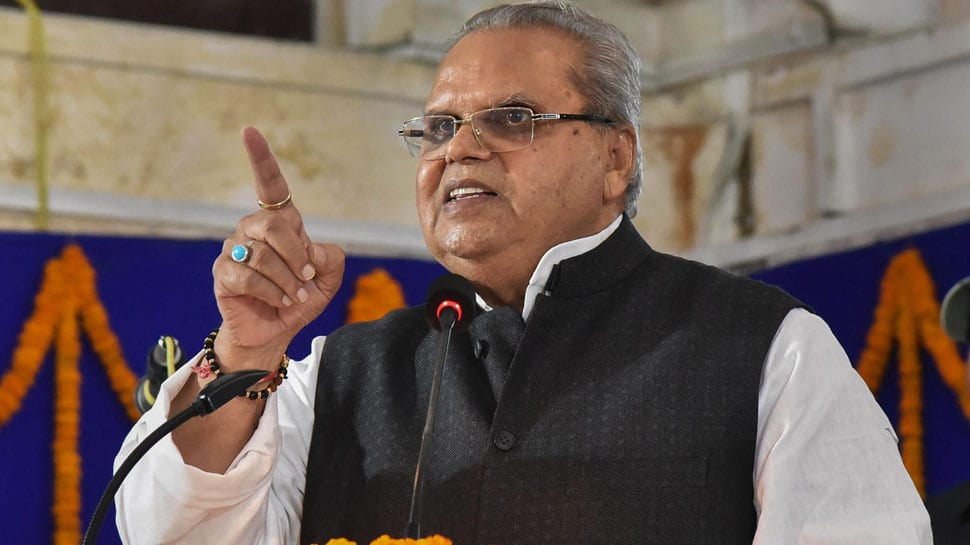 Mainstream parties should not raise issues that endanger peace in Jammu and Kashmir: Governor Satya Pal Malik