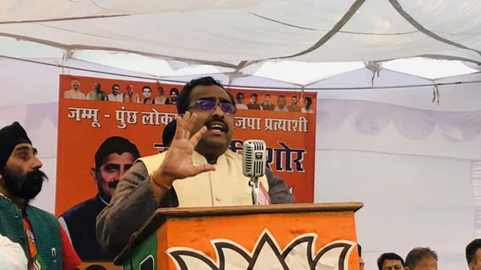 Congress' manifesto for Lok Sabha election made to gather separatists' votes of Jammu and Kashmir: Ram Madhav