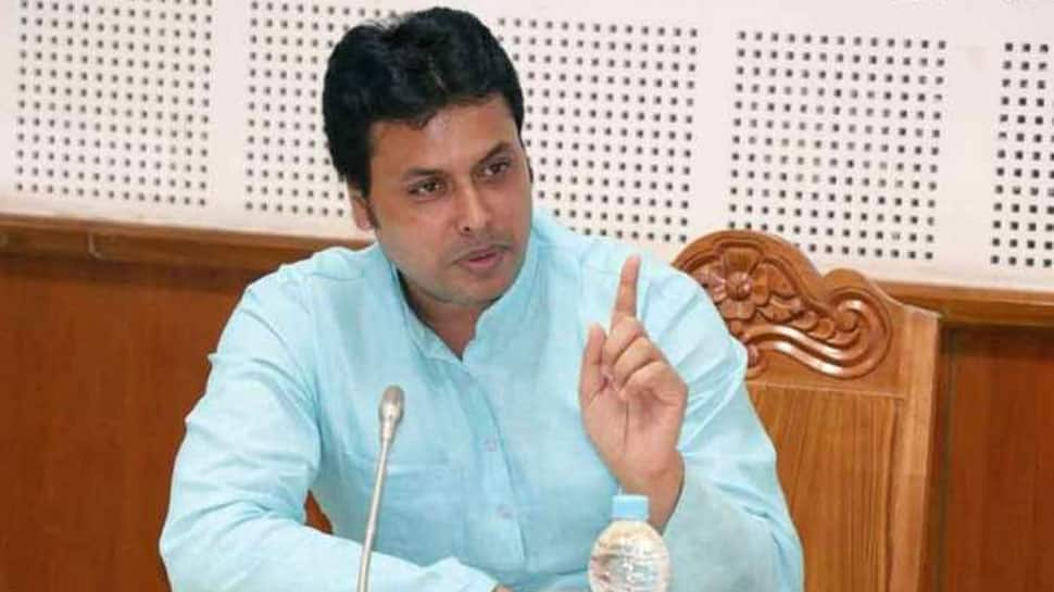 Congress lodges complaint against Tripura CM Biplab Kumar Deb, seeks his arrest