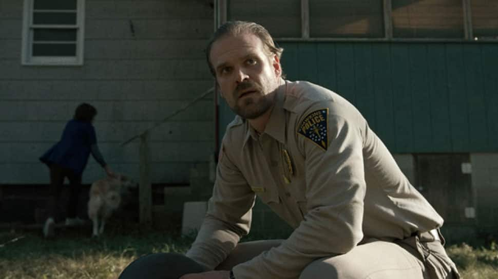 I never thought I'd be an action star: David Harbour
