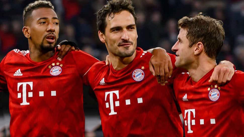 Bayern Munich demolish Dortmund 5-0 to reclaim Bundesliga top spot