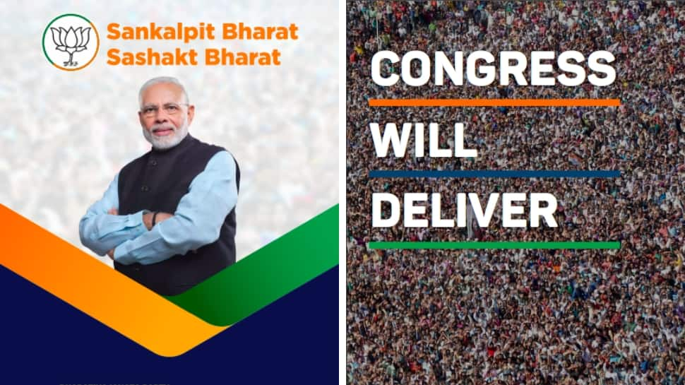 BJP's sankalp patra vs Congress manifesto: Promises made by the two national parties