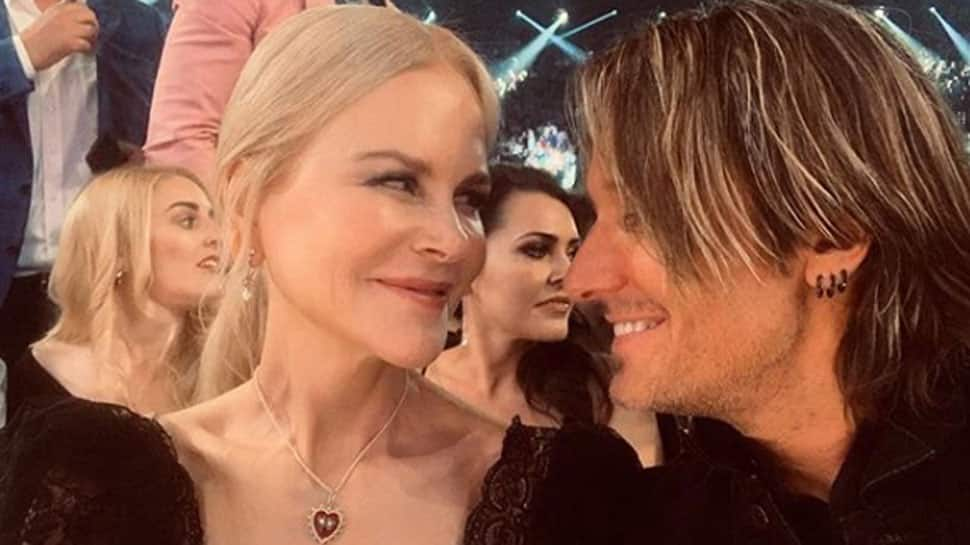 Keith Urban wins award, thanks 'Baby girl'  Nicole Kidman